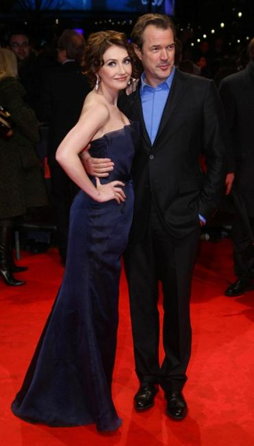 Carice van Houten and Sebastian Koch at the European premiere of