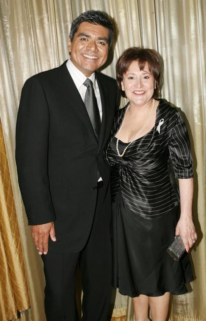 George Lopez and Belita Moreno at the National Kidney Foundation of Southern California's 27th Annual Gift of Life Celebration.