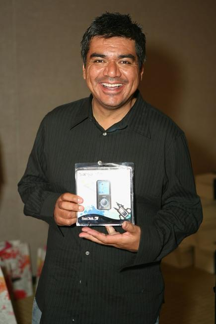 George Lopez at the Distinctive Assets gift lounge during the HBO Comedy Festival.