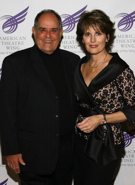 Laurence Luckinbill and Lucie Arnaz at the American Theatre Wing's Annual Spring Gala.