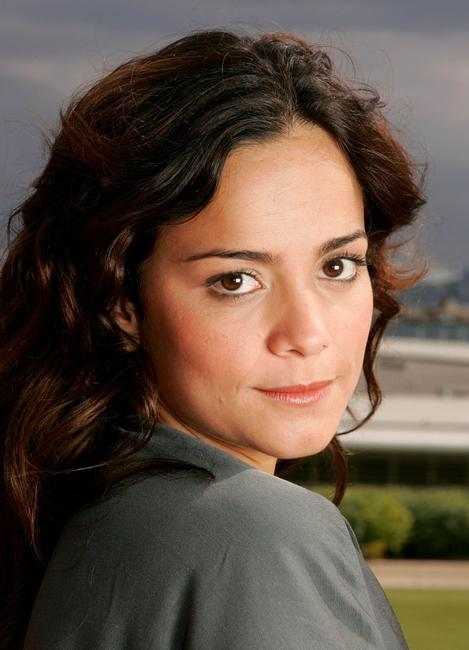 Alice Braga at the 58th International Cannes Film Festival.