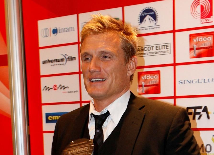 Dolph Lundgren at the video night 2008.