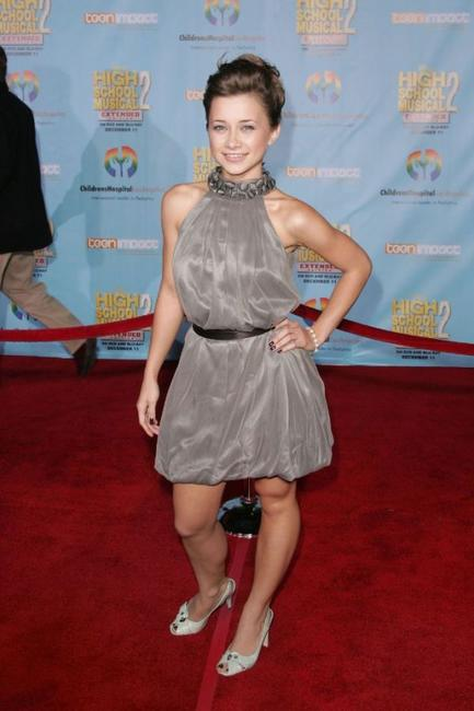 Olesya Rulin at the DVD premiere of