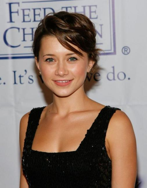 Olesya Rulin at the 2007 World Magic Awards.