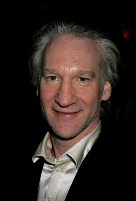 Bill Maher at the Weinstein Co. Golden Globe after party.