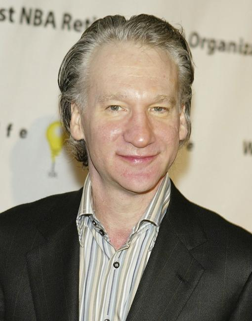 Bill Maher at Penny Marshall's birthday party.