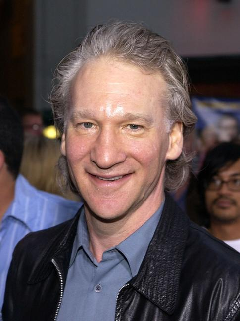 Bill Maher at the premiere of