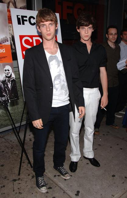 Luke Treadaway and Harry Treadaway at the premiere of