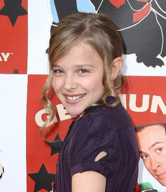 Chloe Grace Moretz at the DVD release party and charity concert event for
