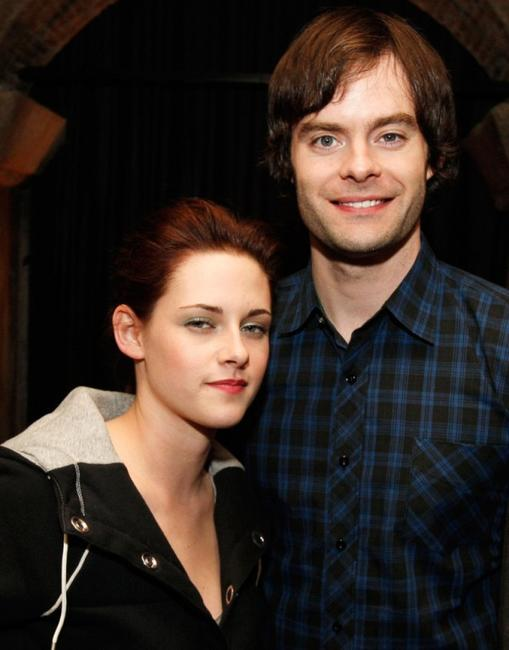 Kristen Stewart and Bill Hader at the after party of the premiere of