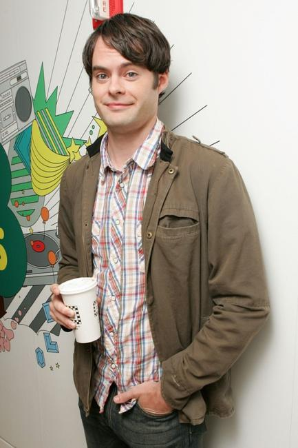 Bill Hader at the MTV's Total Request Live.