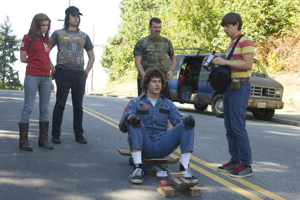 Isla Fisher, Bill Hader, Andy Samberg, Danny McBride and Jorma Taccone in