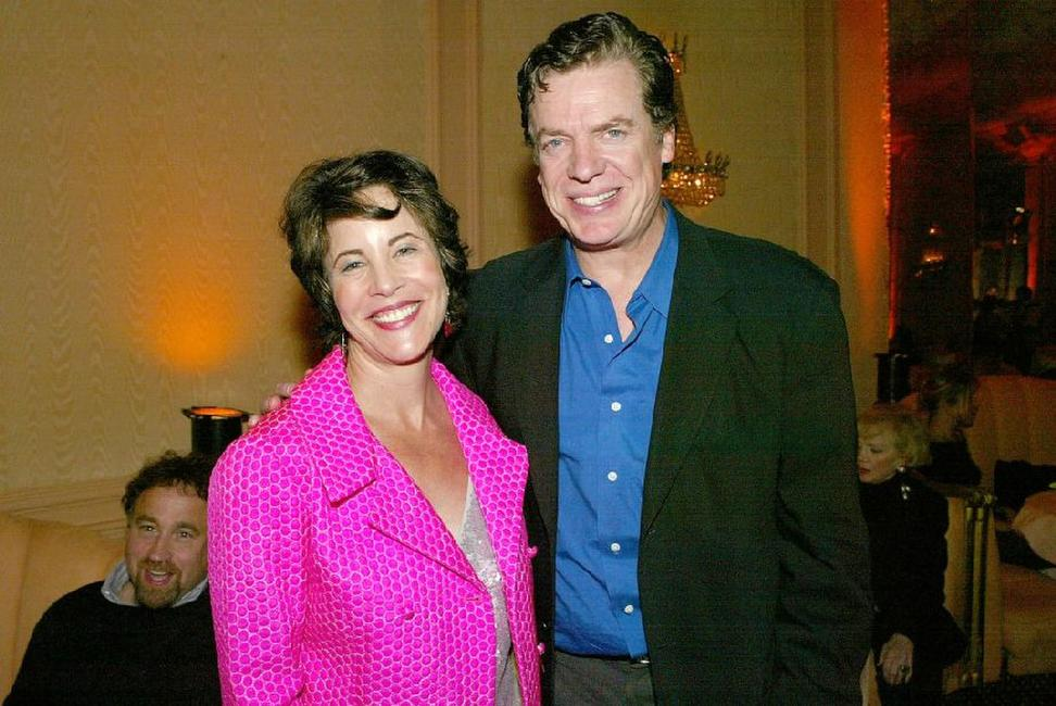 Christopher McDonald and Lynda Keeler at the LA.COM's launch party.