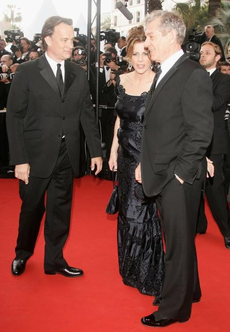 Sir Ian McKEllen, Tom Hanks and Rita Wilson at the World Premiere and Opening Gala of