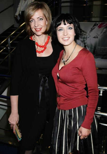 Allison Janney and Diablo Cody at the premiere of