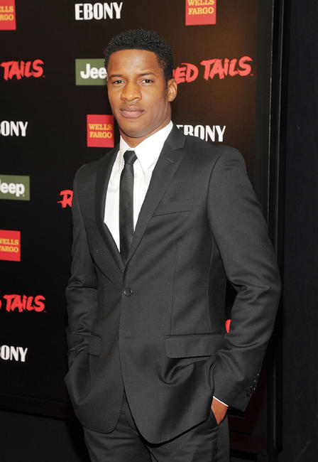 Nate Parker at the New York premiere of
