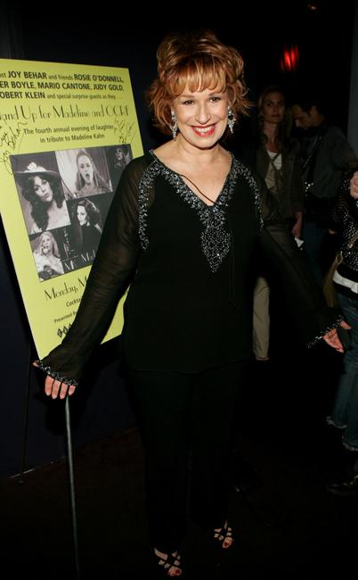 Joy Behar at the 4th Annual Stand-up for Madeline and OCRF.