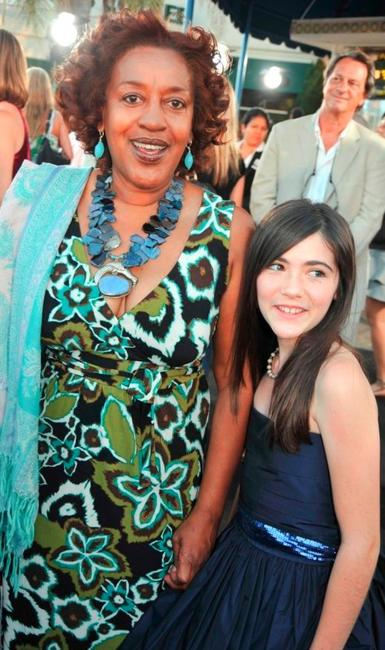 CCH Pounder and Isabelle Fuhrman at the premiere of