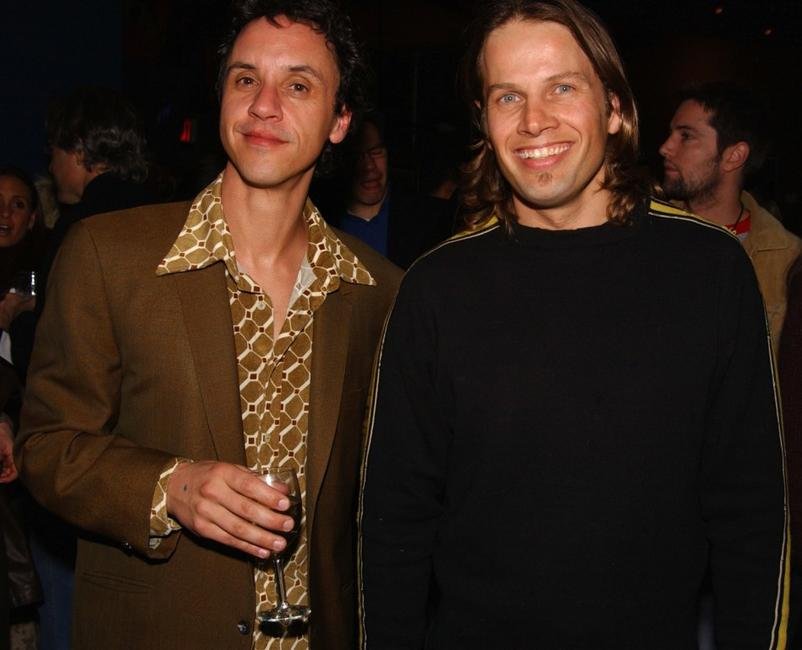 Billy Morrissette and James LeGros at the after party of the premiere of