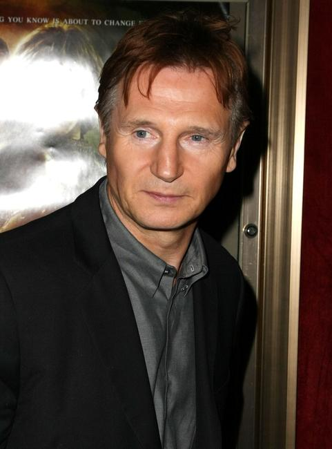 Liam Neeson at the world premiere of