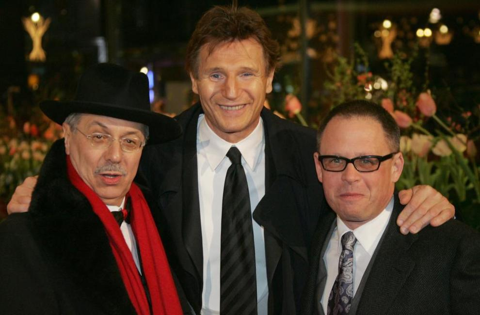 Liam Neeson, Dieter Kosslick and Bill Condon at the Golden and Silver Bears of the 55th Berlinale Film Festival.