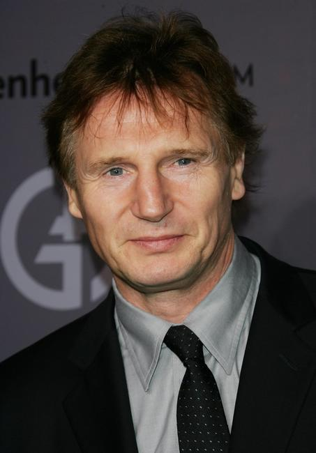 Liam Neeson at the Guggenheim Museum's Young Collectors Council 2006 Artist's Ball.