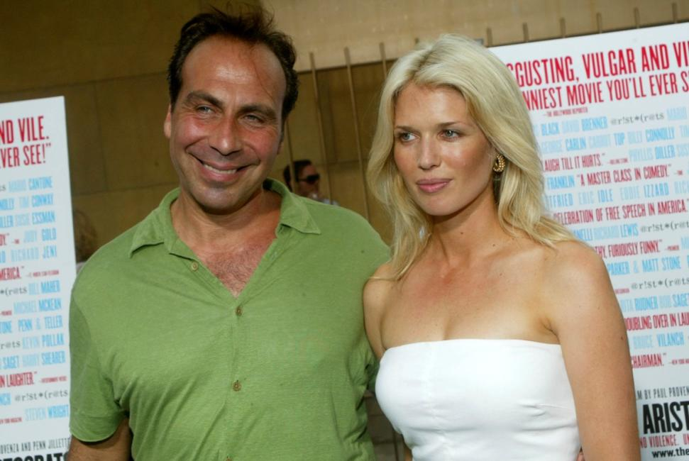 Taylor Negron and Jessica Benton at the Los Angeles premiere of the