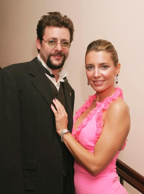 Judd Nelson and Sandra Vidal at the 13th Annual Night of 100 Stars Oscar Viewing Black Tie Gala.