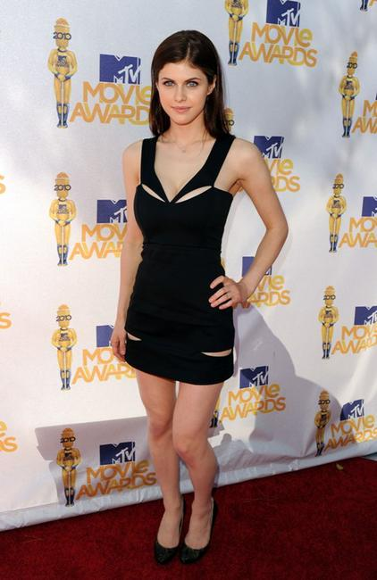 Alexandra Daddario at the 2010 MTV Movie Awards.