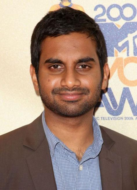 Aziz Ansari at the 18th Annual MTV Movie Awards.