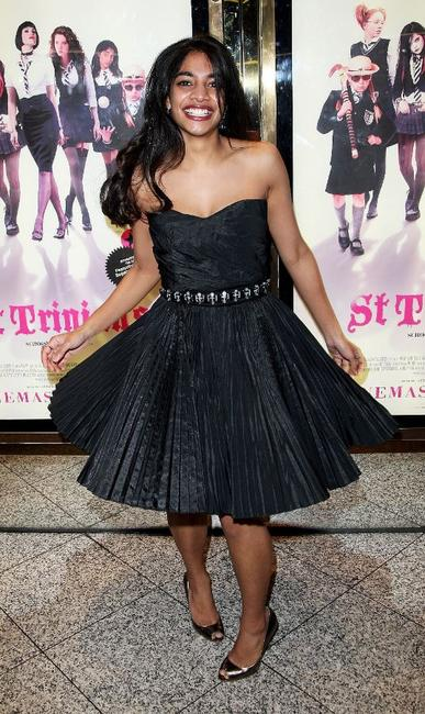 Amara Karan at the world premiere of