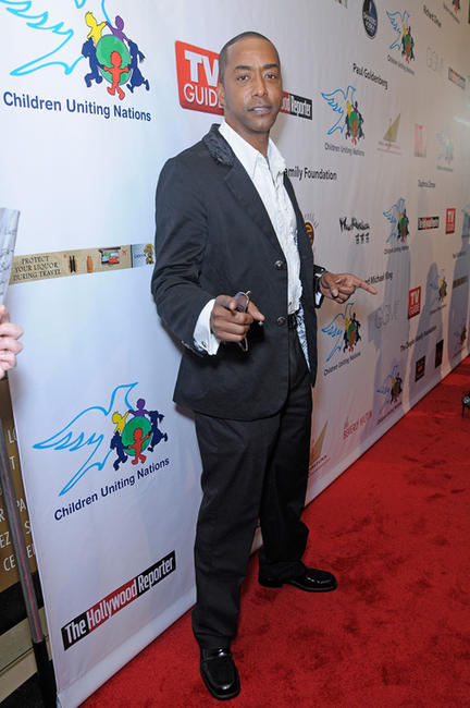 Miguel A. Nunez Jr. at the 11th Annual Children Uniting Nations Oscar Celebration in California.