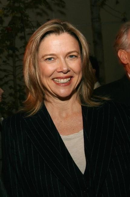 Annette Bening at a discussion on arts education during a Town Hall Los Angeles meeting.