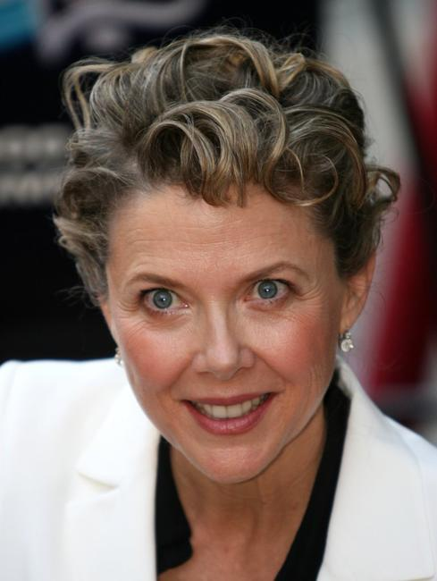 Annette Bening receives a star on the Hollywood Walk of Fame.