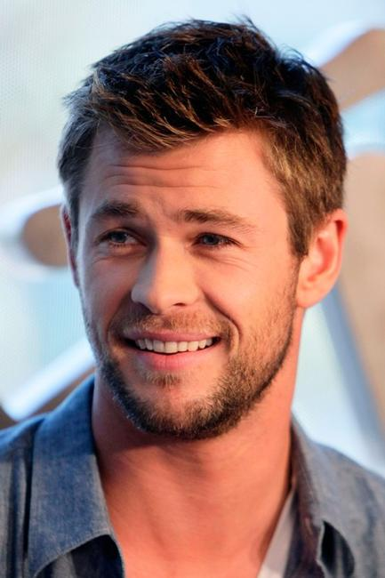 Chris Hemsworth at the Comic-Con 2010.