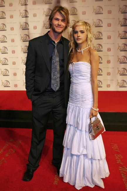 Chris Hemsworth and Isabel Lucas at the 48th Annual TV Week Logie Awards.