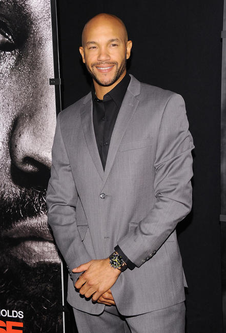 Stephen Bishop at the New York premiere of