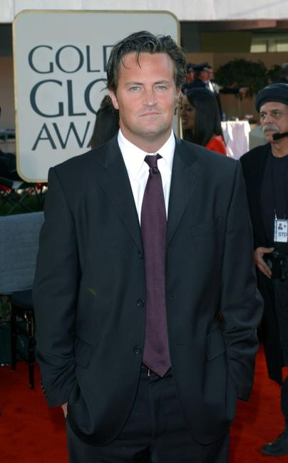 Matthew Perry at the 59th Annual Golden Globe Awards.
