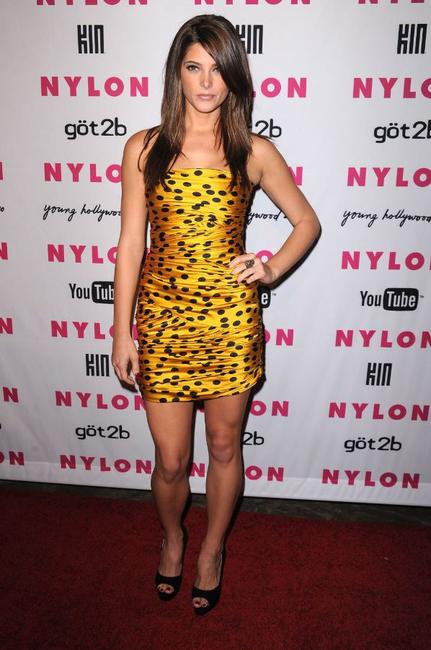 Ashley Greene at the NYLON & YouTube Young Hollywood party.