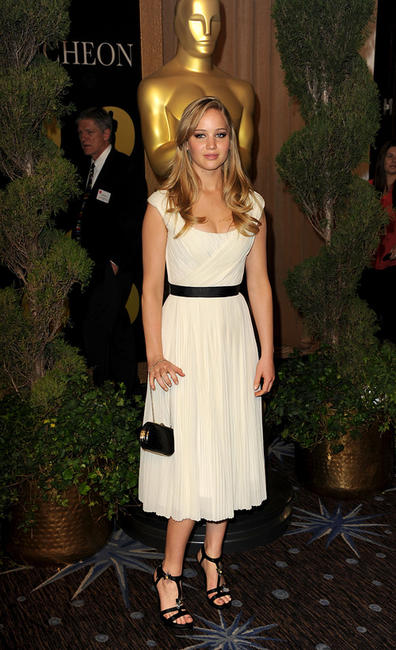 Jennifer Lawrence at the 83rd Annual Academy Awards Nominations Luncheon in California.