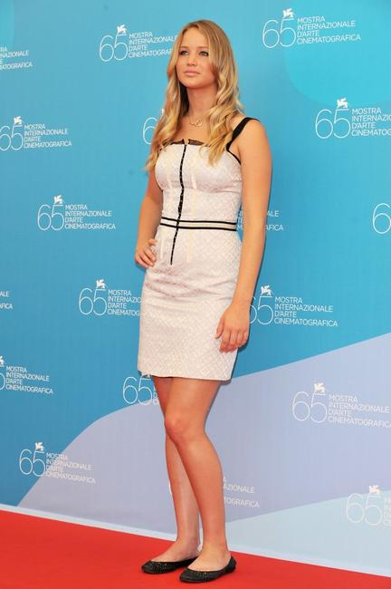 Jennifer Lawrence at the photocall of