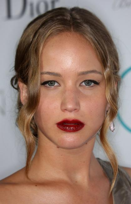Jennifer Lawrence at the premiere of