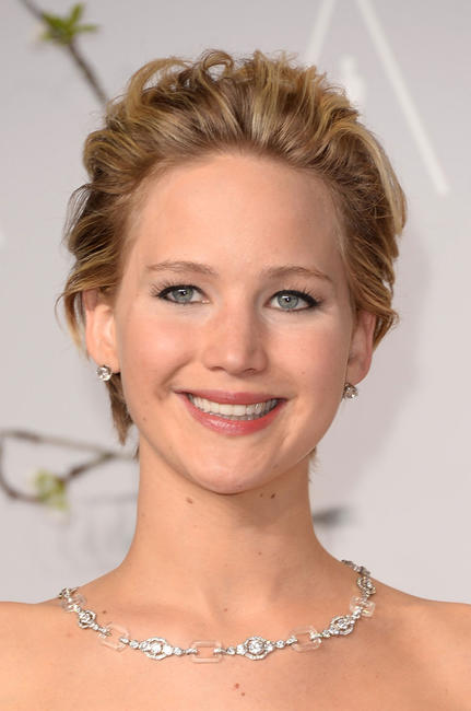 Jennifer Lawrence at the 2014 Academy Awards