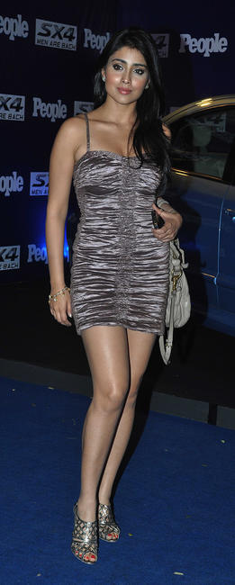 Shriya Saran at the People Magazine theme party in Mumbai.