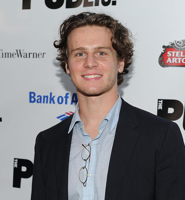 Jonathan Groff at the 2010 Public Theater Gala in New York.