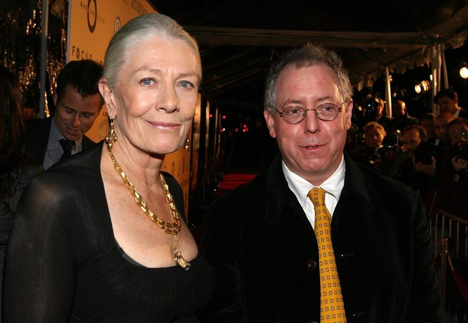 Vanessa Redgrave and James Schamus at the Premiere of