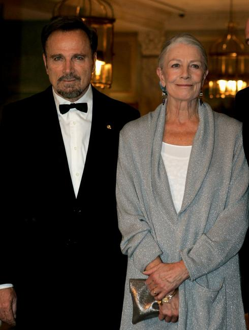 Franco Nero and his wife Vanessa Redgrave at the Gala Spa Awards 2008.