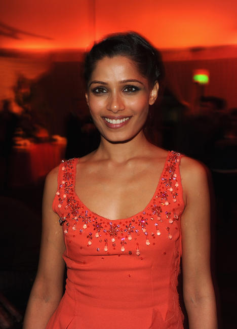 Freida Pinto at the after party of the world premiere of