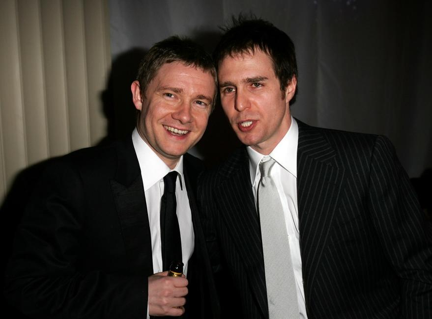 Sam Rockwell and Martin Freeman at the World Premiere of