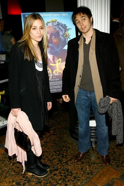 Sam Rockwell and Piper Perabo at the opening night of